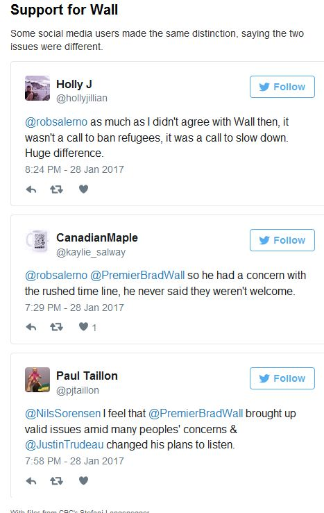 CBC later removed Paul's comment.